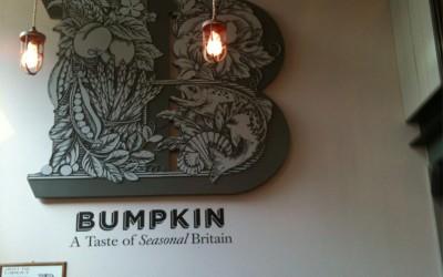 Bumpkin Restaurant 3D Logo