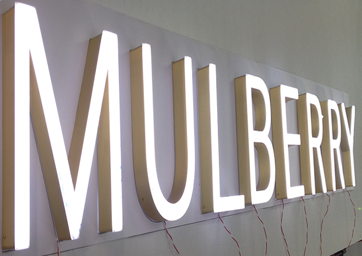 Illuminated signs and letters pep retail signage and display for Store sign letters
