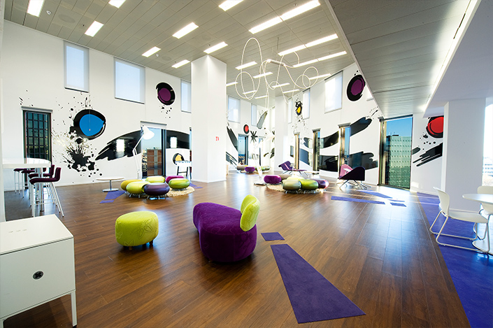 Yahoo 3D office graphics