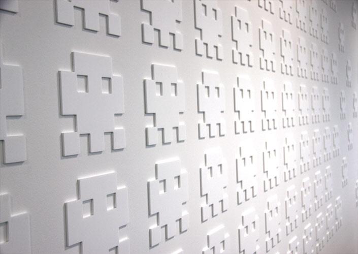 Yahoo 3D acrylic wall dublin