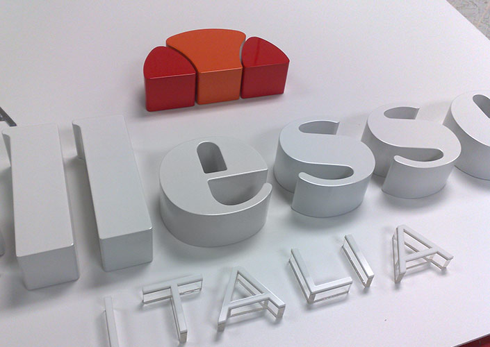 Ellesse Head Office 3D Wall Graphics