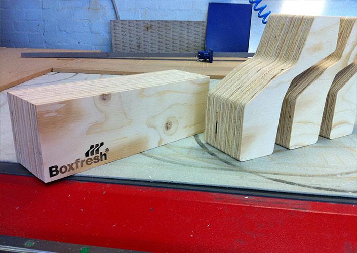 Boxfresh Wooden Branding Blocks
