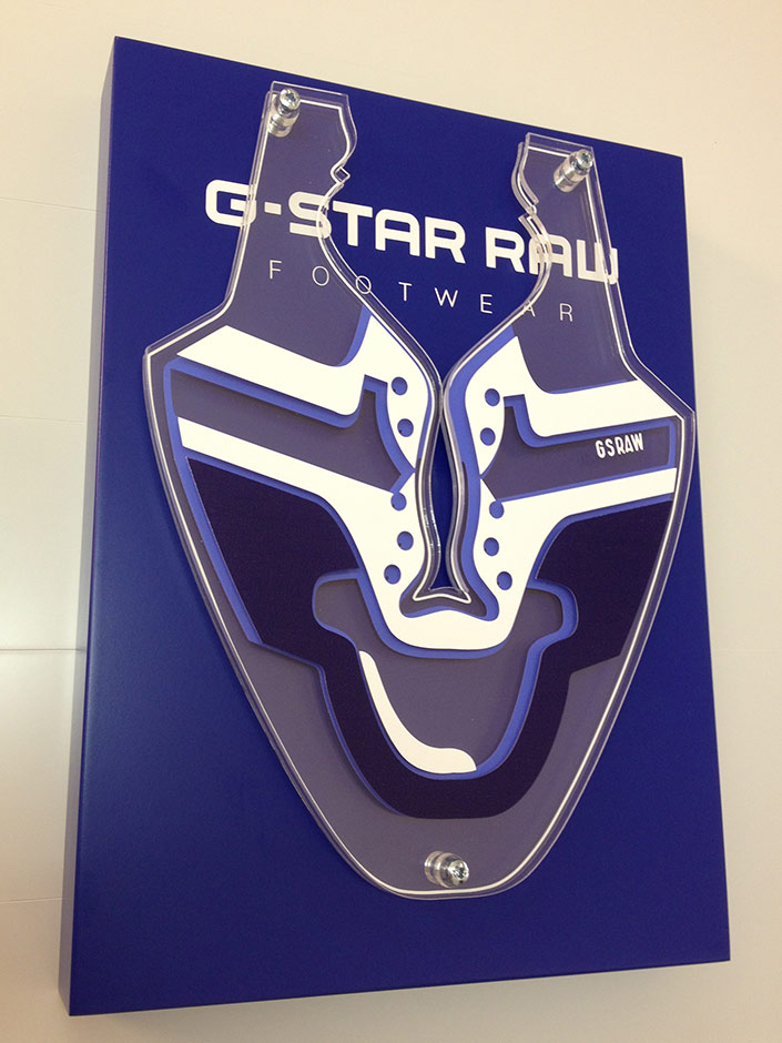 G-Star Raw branding block