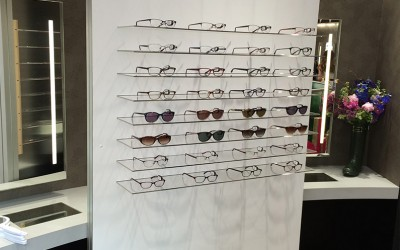 Joules Freestanding Eyewear Display