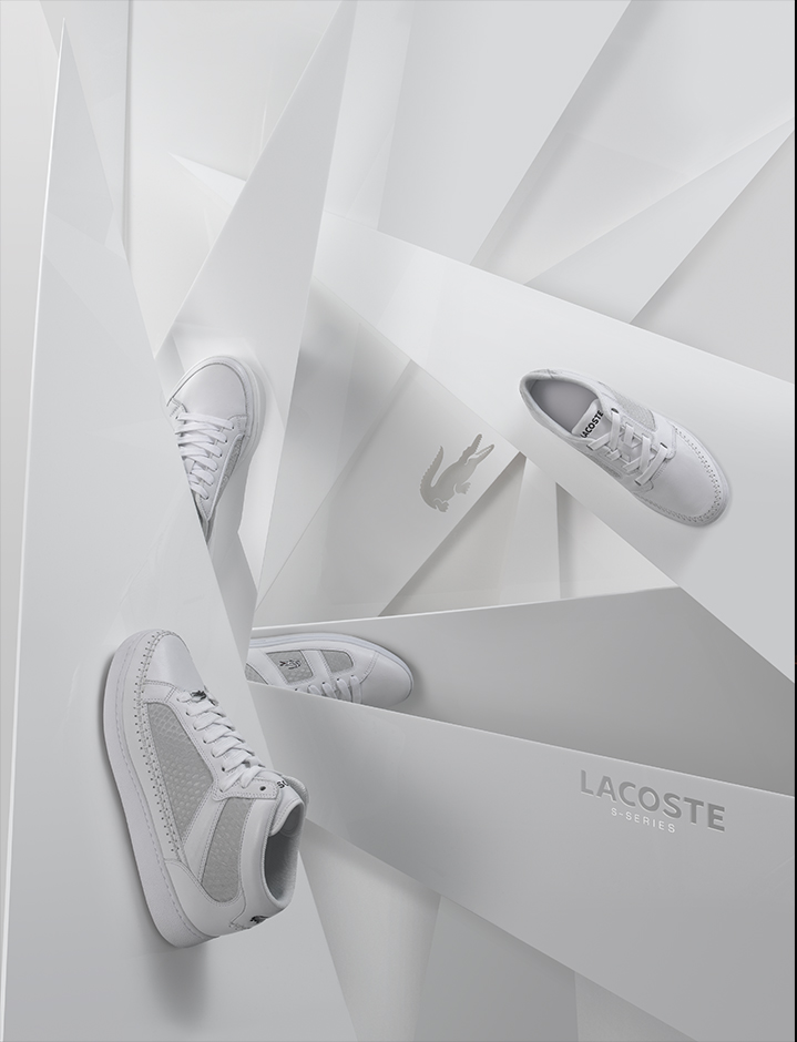 lacoste acrylic photo props