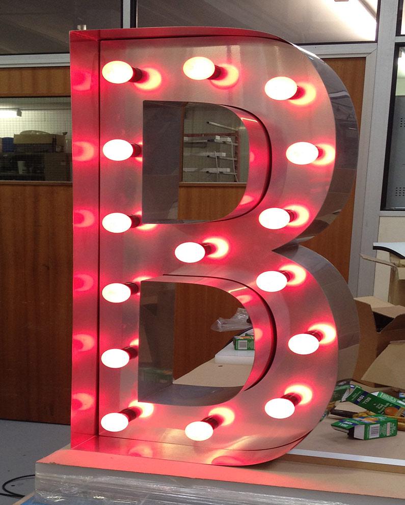 ted baker built up letter