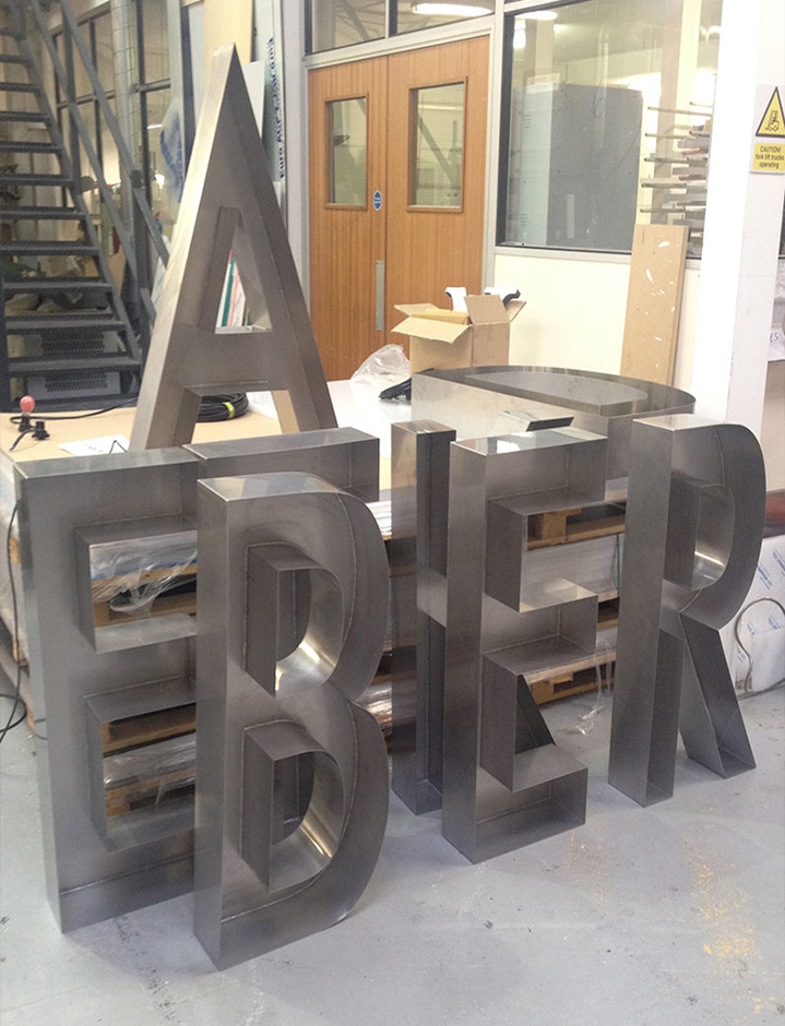 Ted Baker logo built up letters