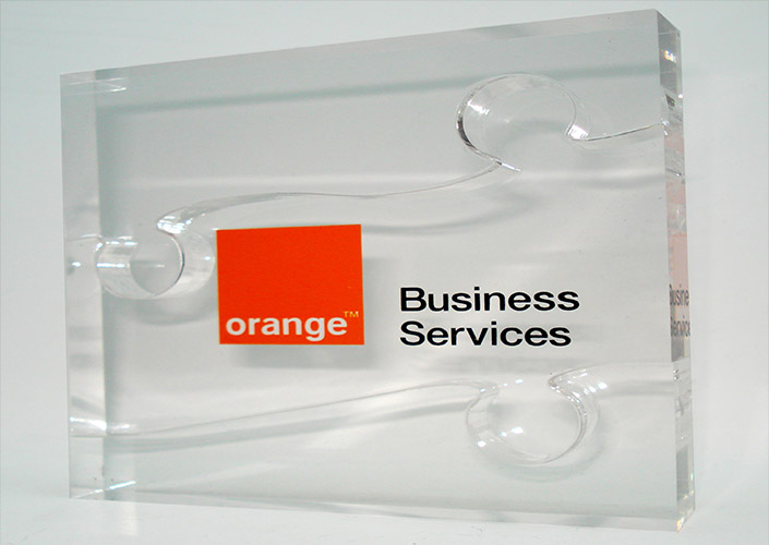 Orange Business Promotional Gift