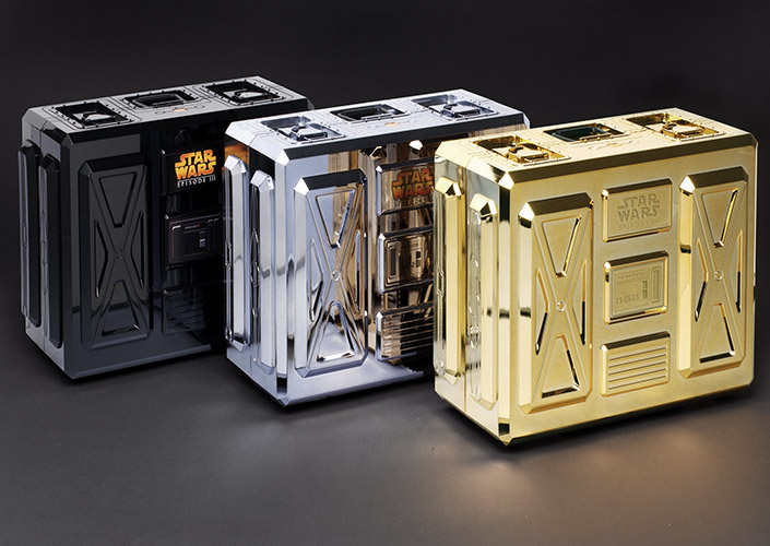 Orange Starwars promotional box