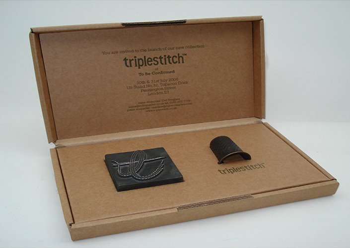 Triplestitch Printing Block Invite Box