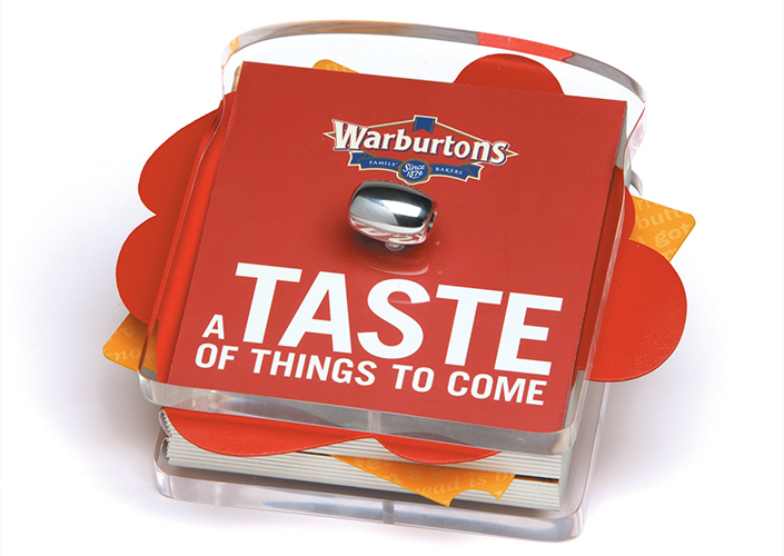 Warburtons Acrylic Promotional Info Pack