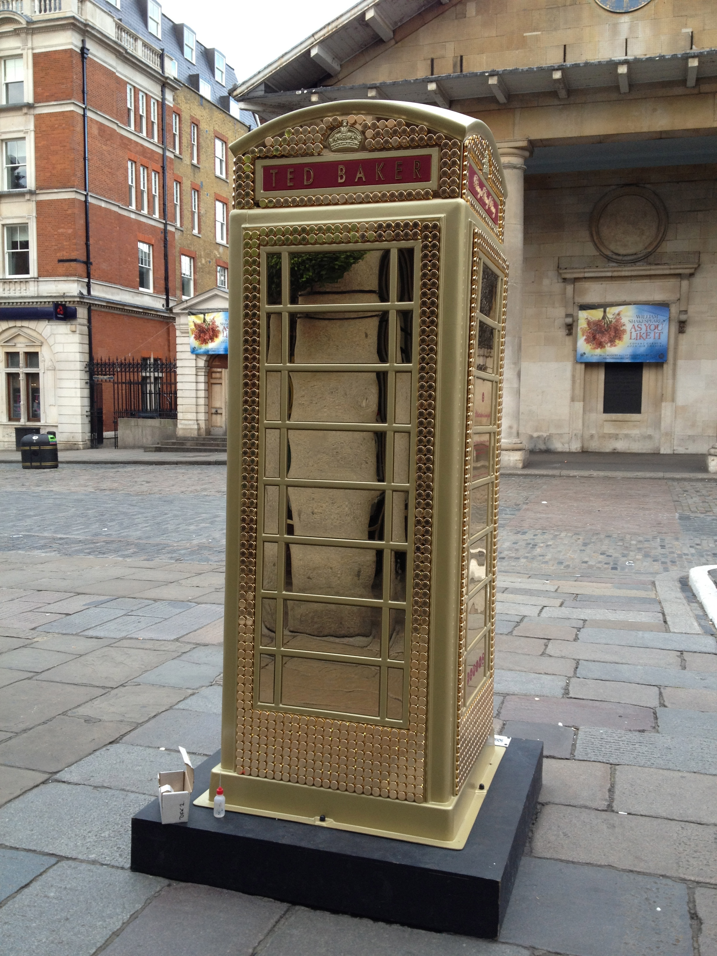 Ted Baker Childline Art Phone box