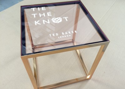 Ted Baker Tie The Knot Footwear Displays