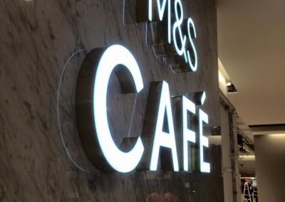 M & S LED Signage