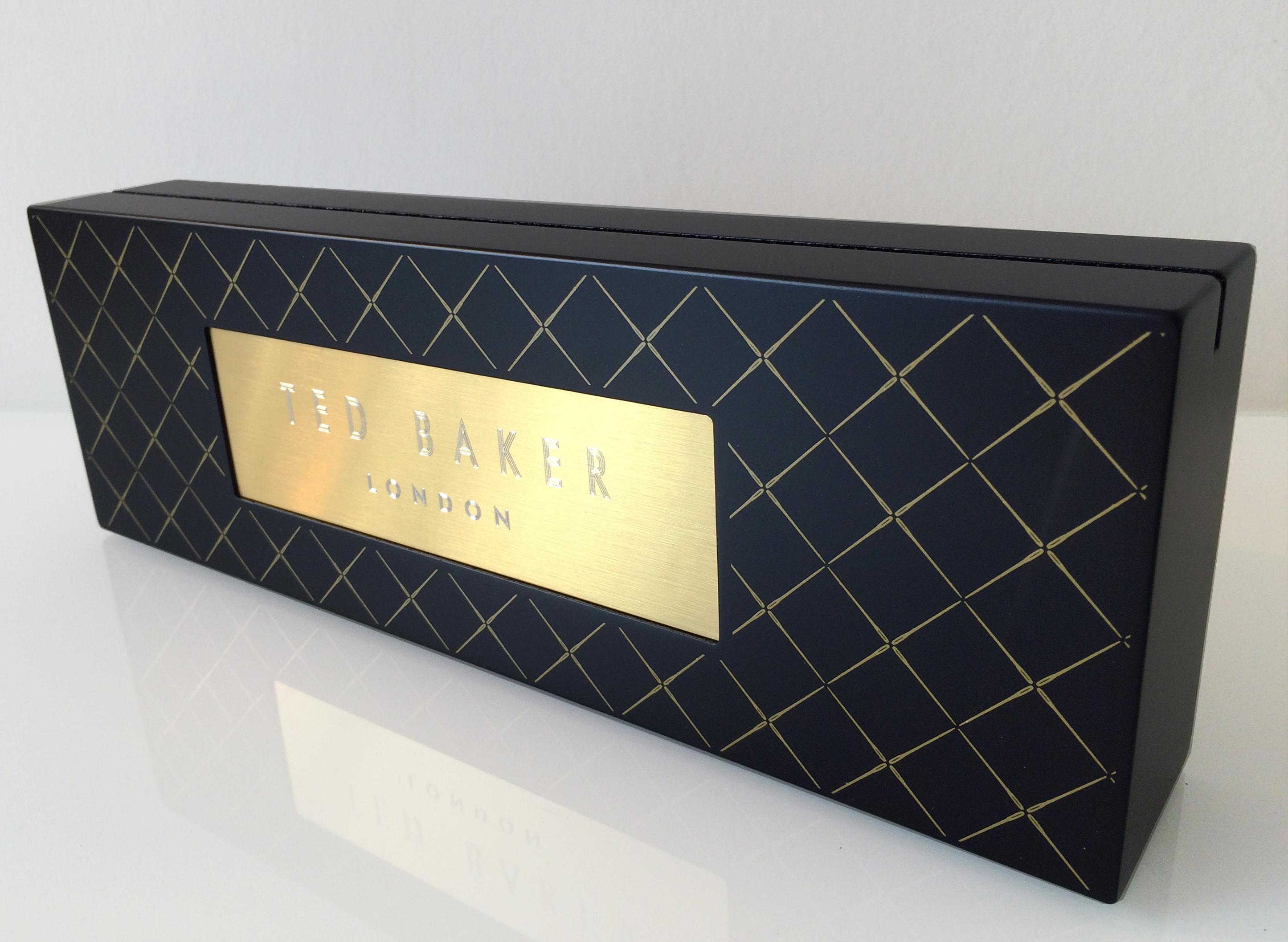 Ted Baker Branding Block