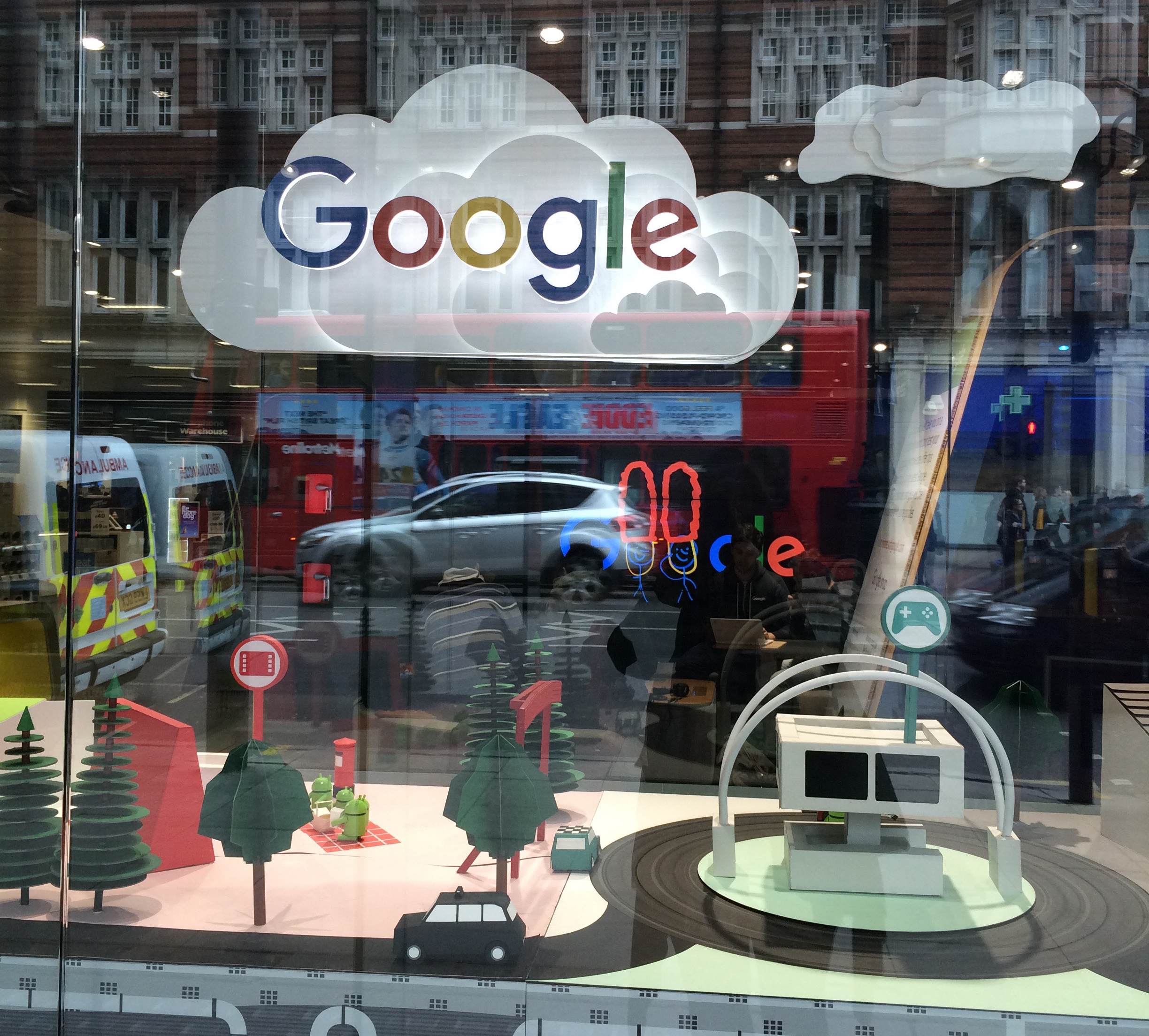 Google Illuminated display
