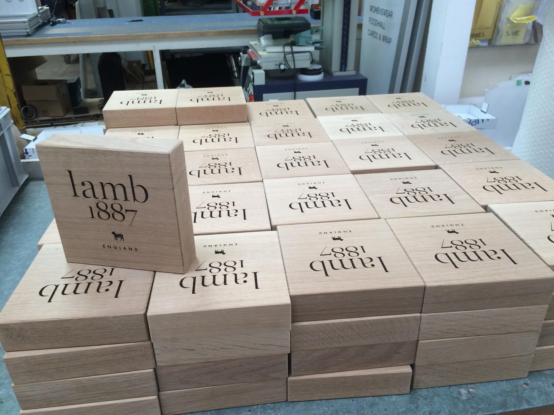 Lamb Branding Block