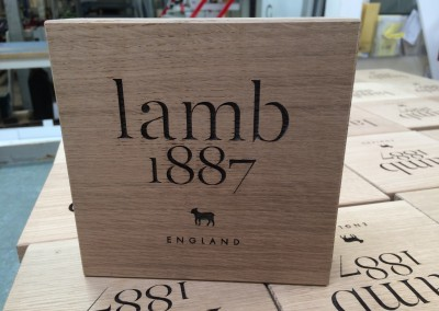 Lamb Wooden Branding Blocks