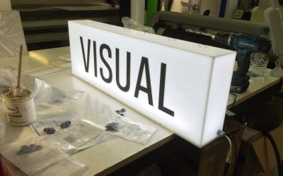 Visual Illuminated Sign