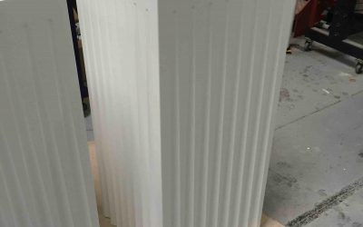 Fluted Display Plinths