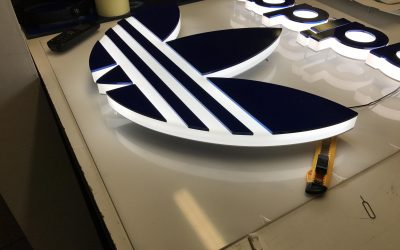 Adidas Illuminated Logo