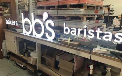 BB's Illuminated LED Sign