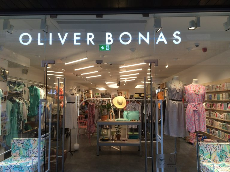 Oliver Bonas LED Illuminated Signs