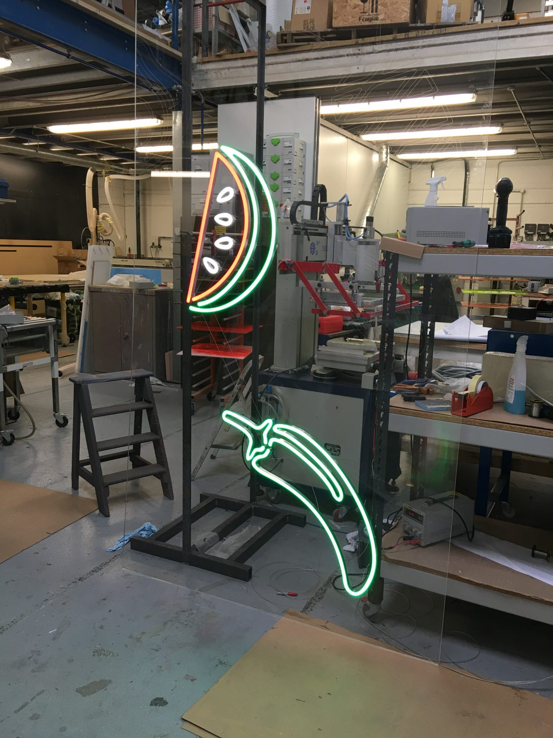 M&S LED Neon Graphics