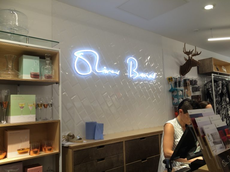 Oliver Bonas Illuminated Sign